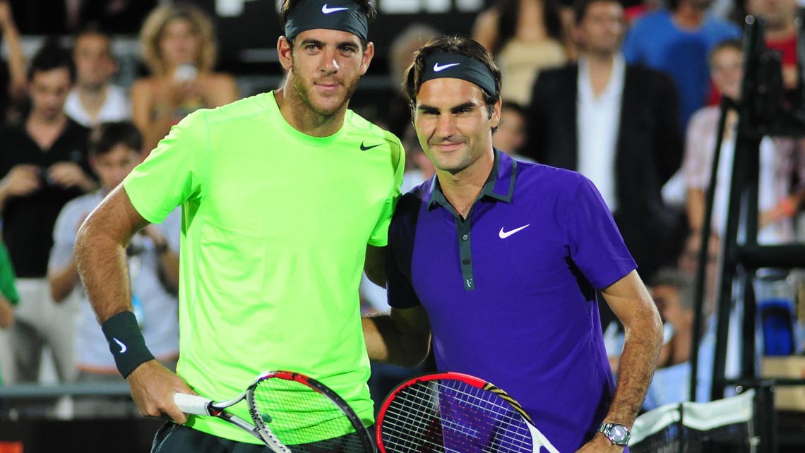 Federer is the defending champion