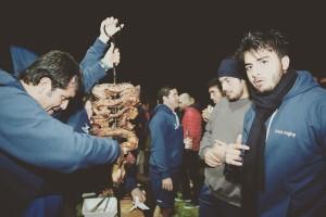 Comercial Castro auspició el tercer tiempo entre los Cóndores y los hermanos argentinos. Vía instagram @chilerugbyoficial