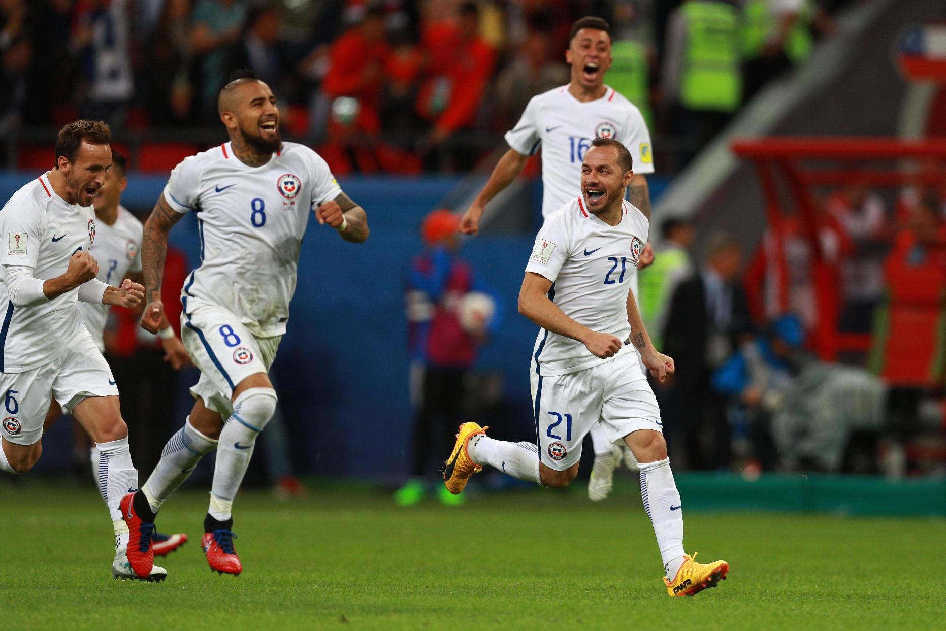 Chile jugará la Final de Copa Confederaciones este domingo a partir de las 14 horas.