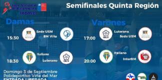Quinta Región semifinales