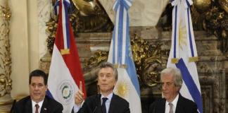 Argentina, Uruguay y Paraguay