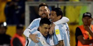 Uruguay, Argentina y Colombia