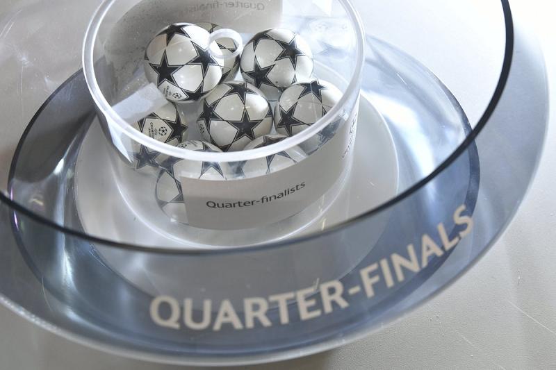 Sorteados los cuartos de final de la Champions - FaroDeportivo