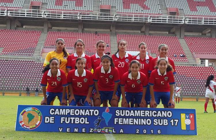 Chile Pierde Sede Del Sudamericano Femenino Adulto De: Chile Golea A Perú En Su Despedida Del Sudamericano Sub