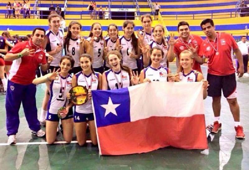 Chile Pierde Sede Del Sudamericano Femenino Adulto De: Chile Femenino Sub 16, Gana El Tercer Lugar En